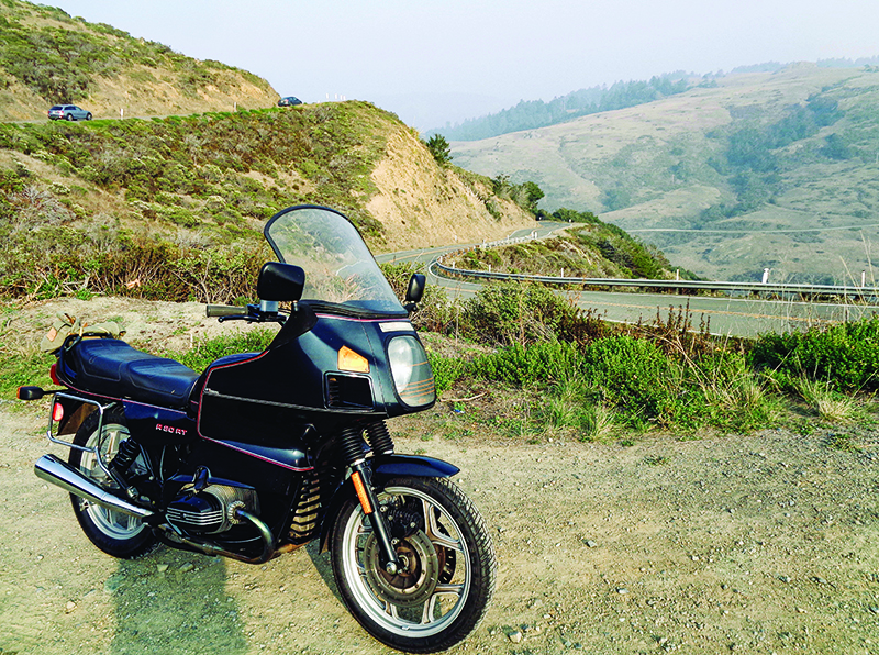 Favorite Ride - An Old Bike and the Sea: A first ride on Highway One