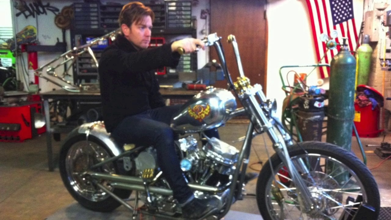 Ewan McGregor selling Panhead at auction