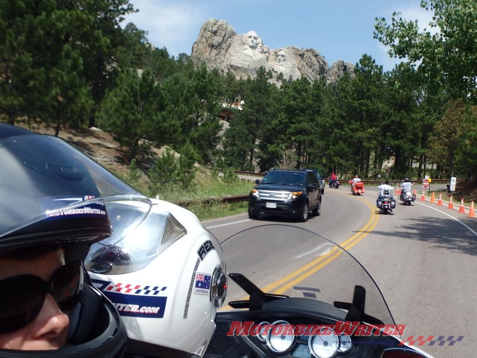 USA America Sturgis Rushmore South Dakota rally