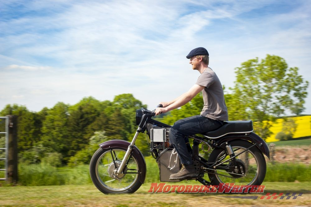 Electric Royal Enfield Charging Bullet documentary trailer