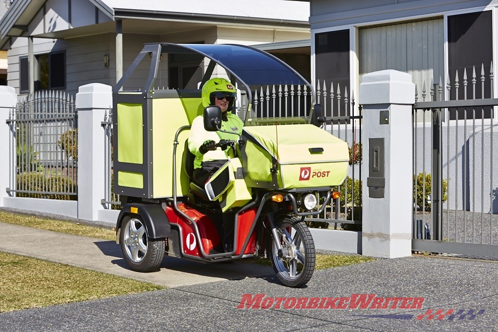Australia Post postie bike electric trike eDV