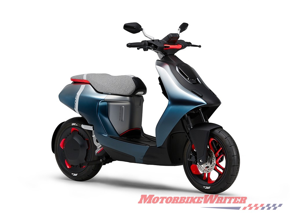 Yamaha E02 electric program