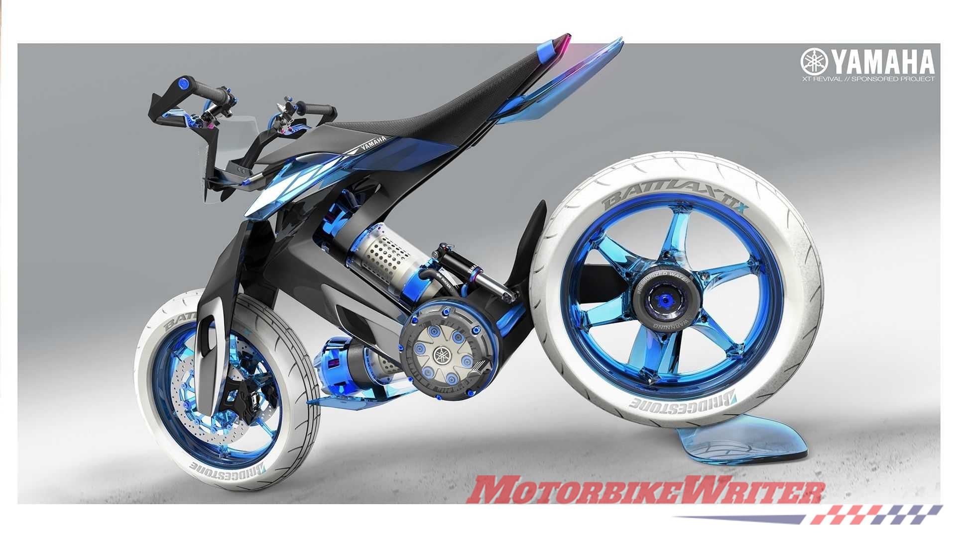 Yamaha water bike