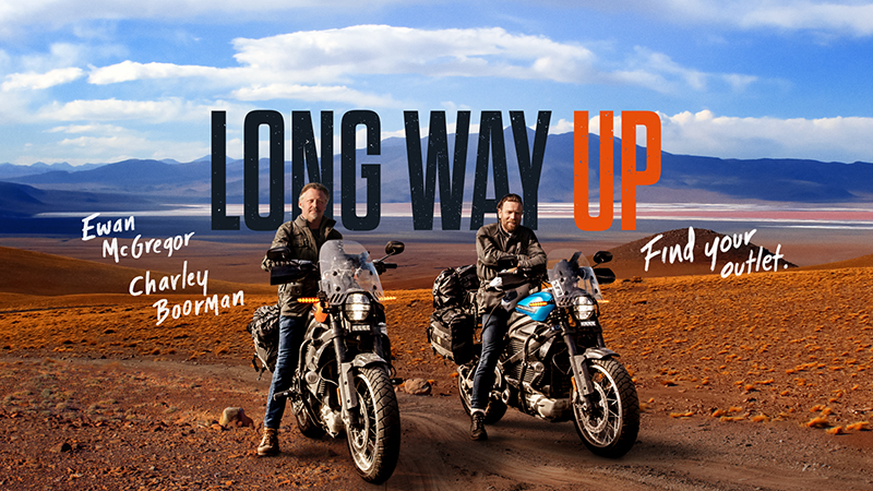 The Long Way Up Starring Ewan McGregor and Charely Boorman Trailer Released