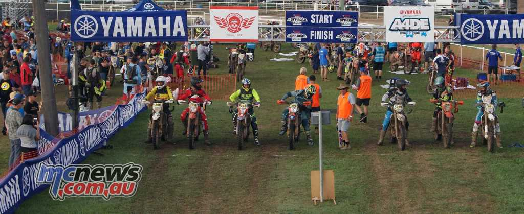 The top Masters riders about to head off on Day 3