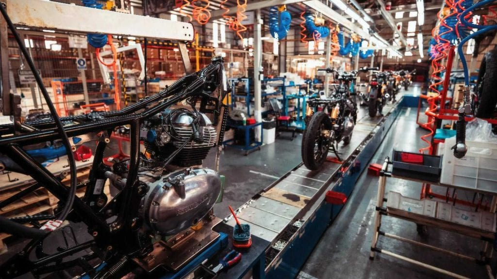 Royal Enfield production in Argentina