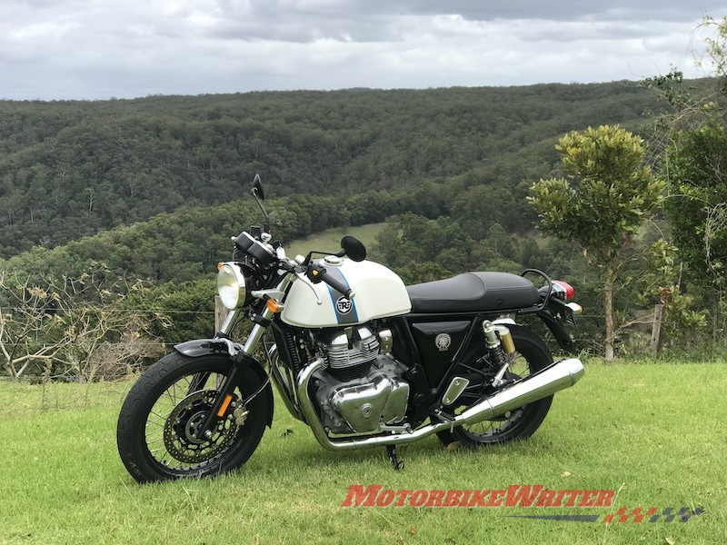 Cafe racing Royal Enfield's Continental GT 650 boom