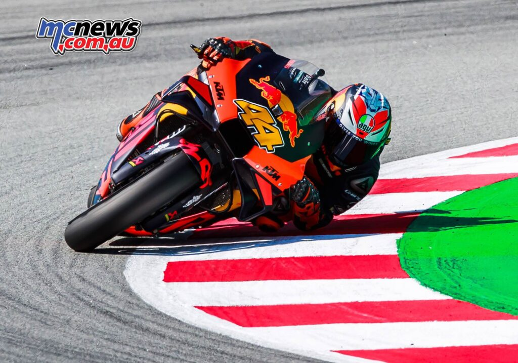 Heading the third row of the grid is Pol Espargaro in seventh. This is KTM's best MotoGP qualifying at the Circuit de Barcelona-Catalunya.