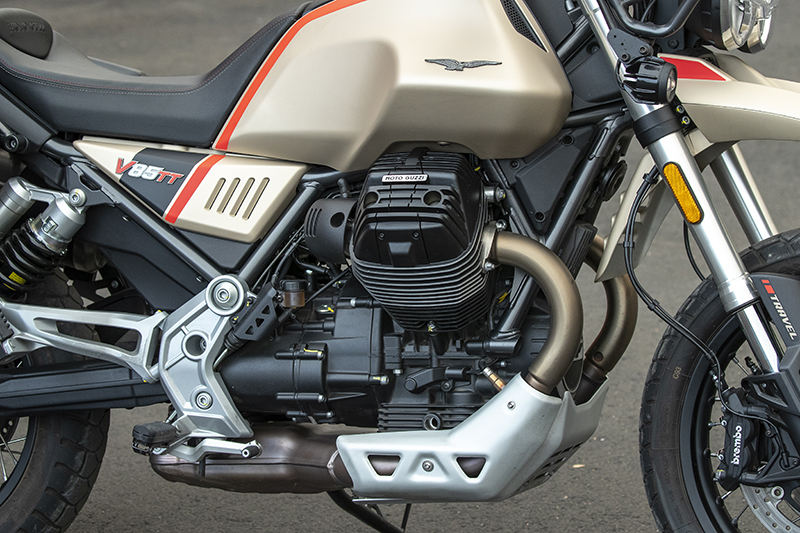 2020 Moto Guzzi V85 TT Travel Road Test Review