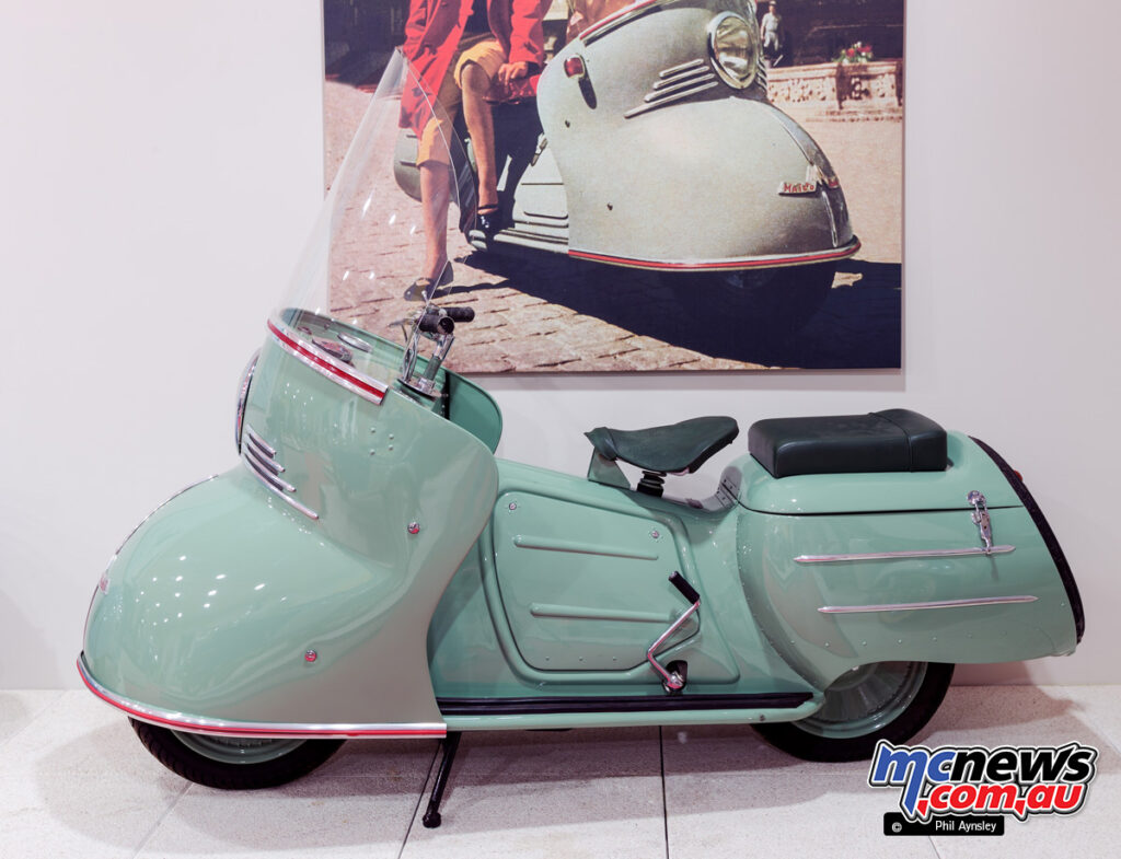 Maico Mobile touring scooter