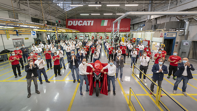 2021 Ducati Multistrada V4 Becomes First Motorcycle With Radar