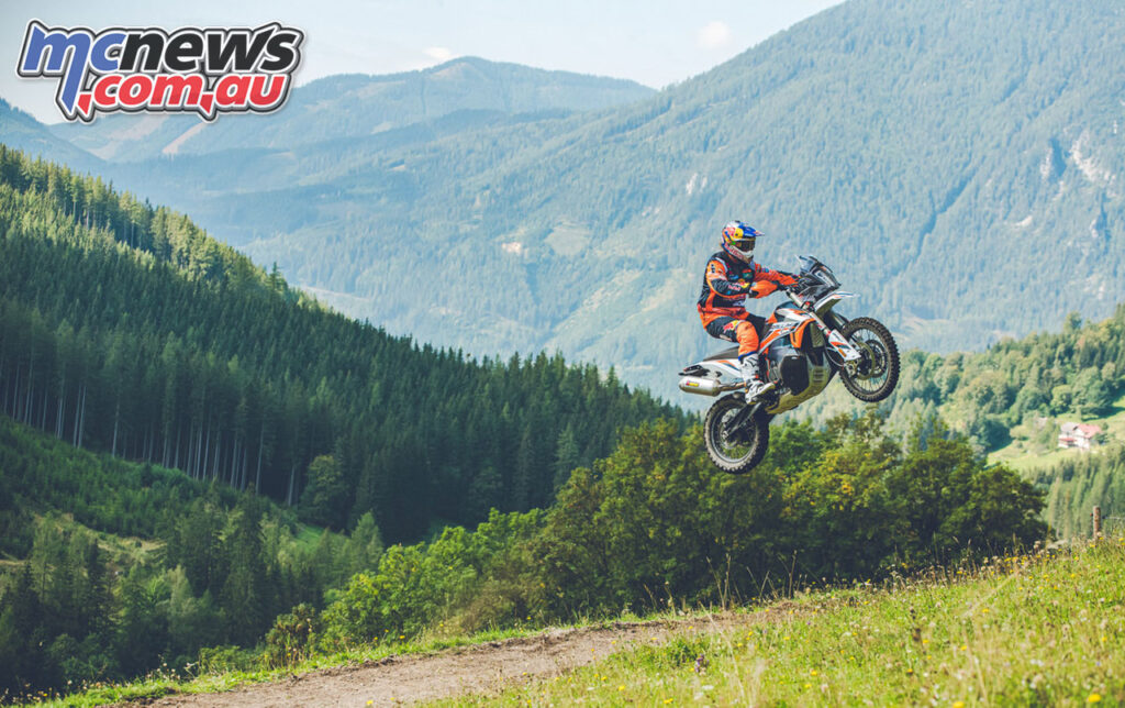 Toby Price on the new 2021 KTM 890 Adventure R Rally