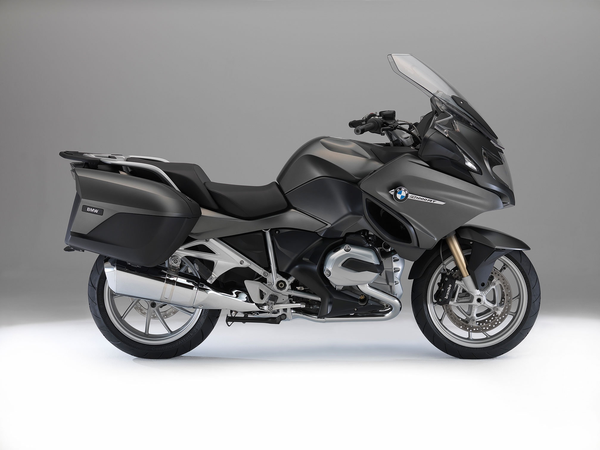 2014 BMW R1200RT Side View Studio Shot