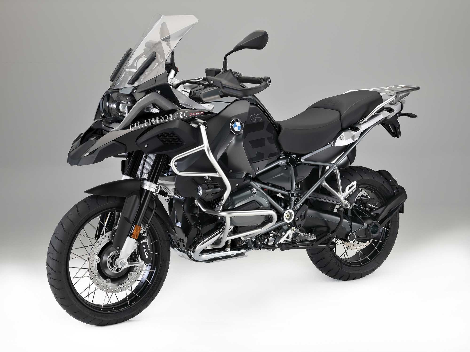 BMW R 1200 GS Side View Official Promotional Image