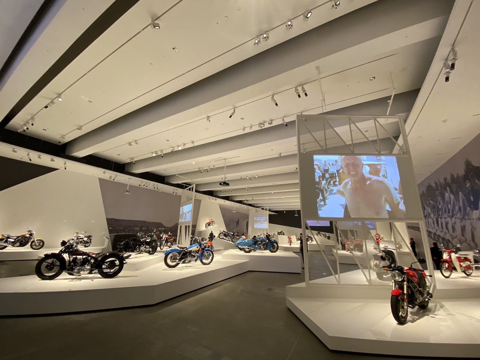 GOMA motorcycle exhibit