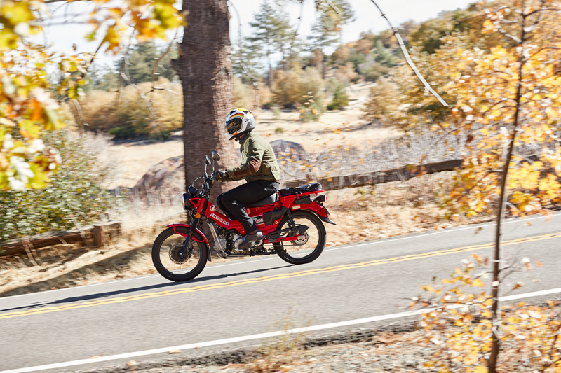 2021 Honda Trail 125 ABS Review