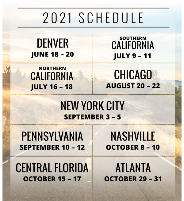 2021 Progressive IMS Outdoor Tour Dates
