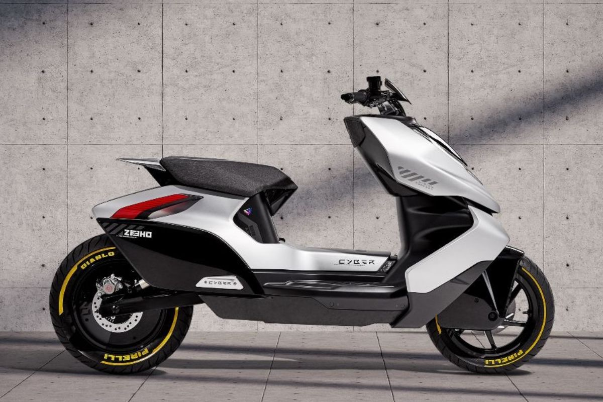 CFMoto electric Cyber scooter