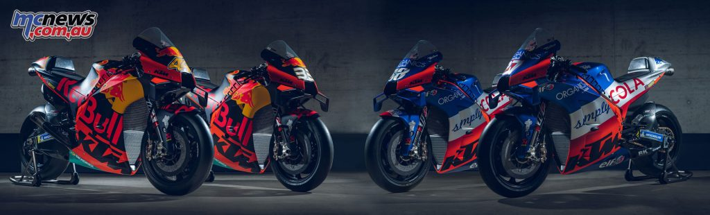 MotoGP Red Bull KTM Factory Racing Red Bull KTM Tech RCs