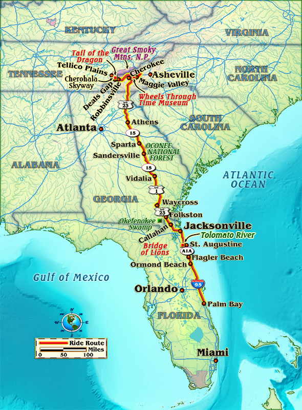 Favorite Ride — Space Coast to the Smokies