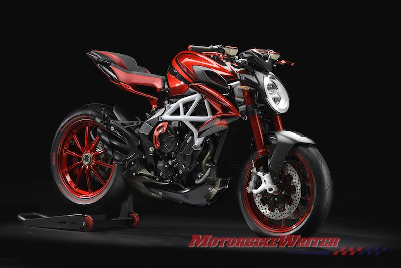 MV Agusta Brutale 800 RR LH44 third Lewis Hamilton limited-edition model flash sale