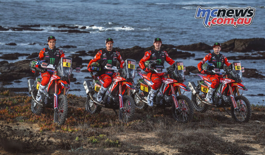 Monster Energy Honda Rally Team - Dakar 2021
