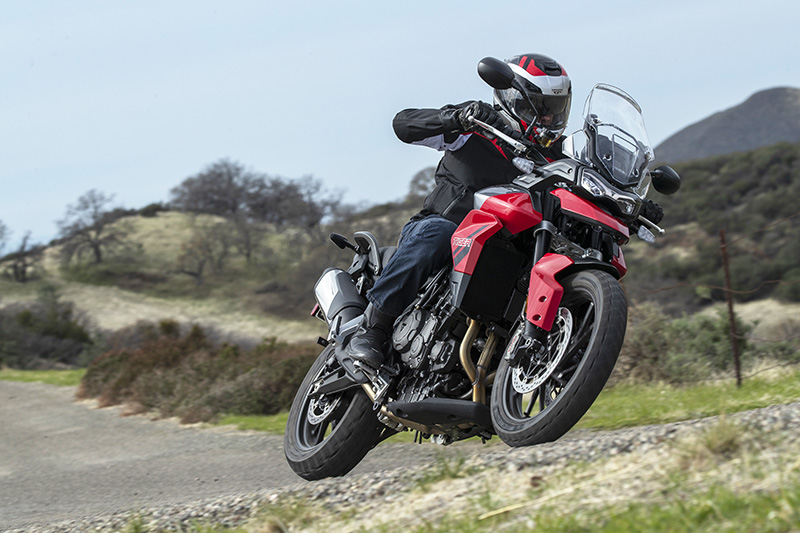 2021 Triumph Tiger 850 Sport video review