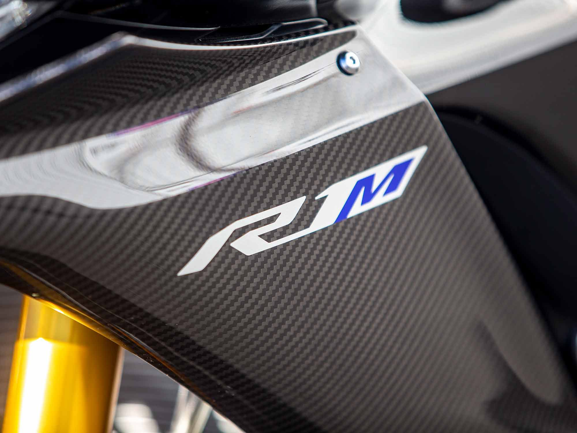 Introduced for the 2015 model year, the YZF-R1M is the pinnacle of Yamaha's production sportbike technology.