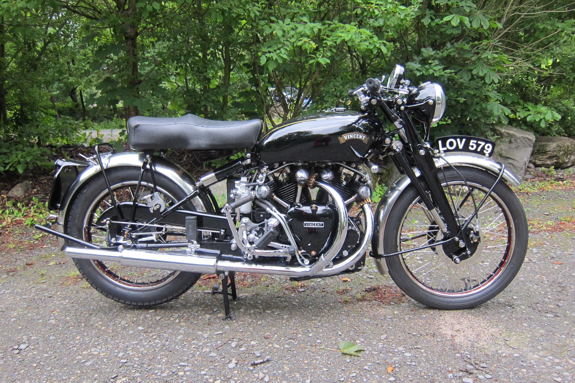 1951 Vincent HRD 998cc Black Shadow Series C