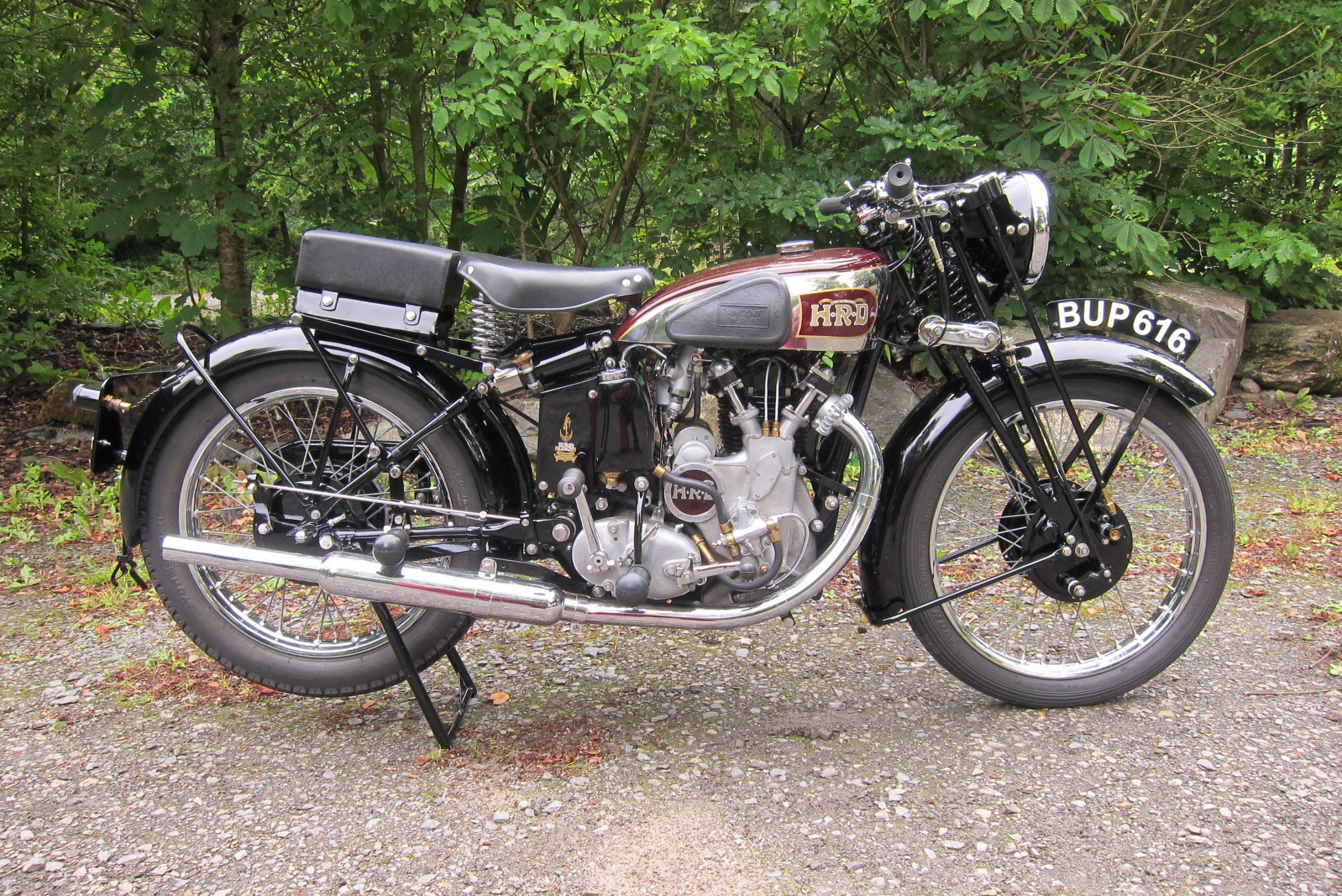 1937 Vincent HRD 498cc Comet Series A