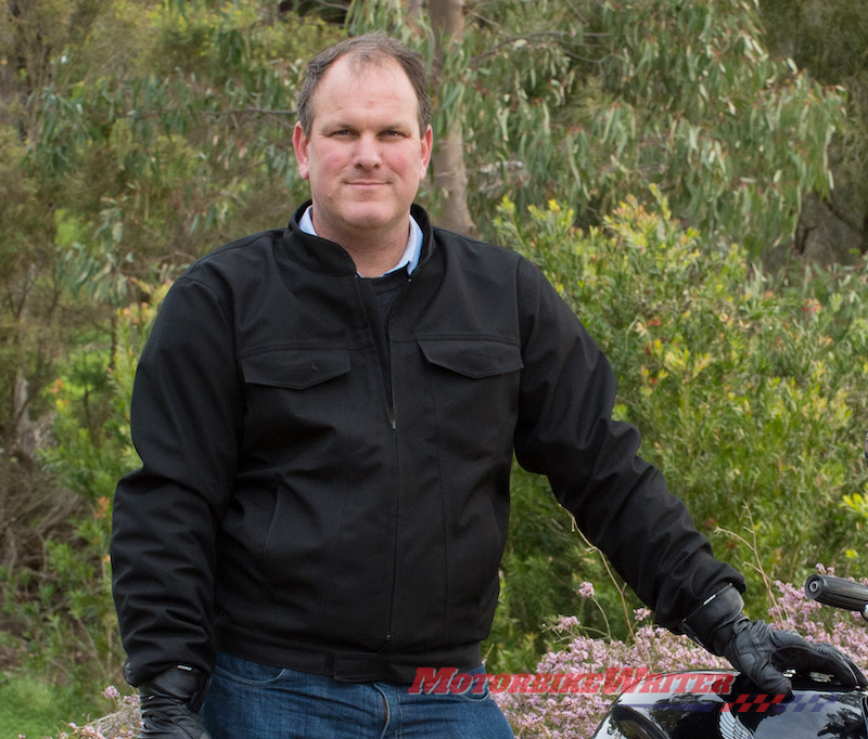 MotoCAP senior researcher Dr Chris Hurren