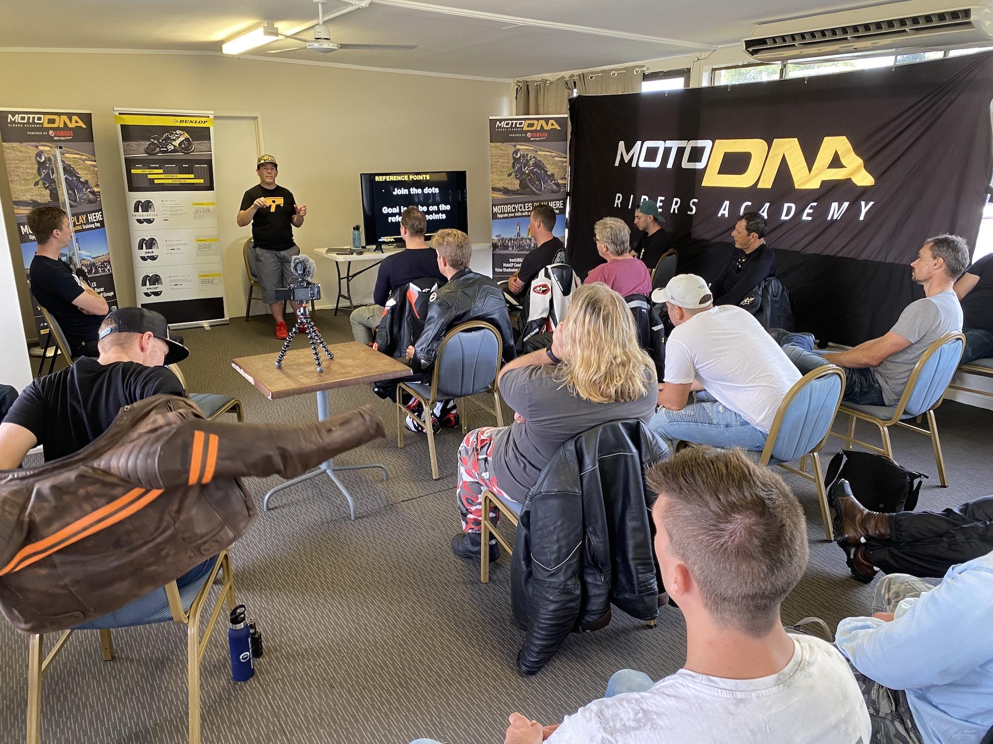 MotoDNA training
