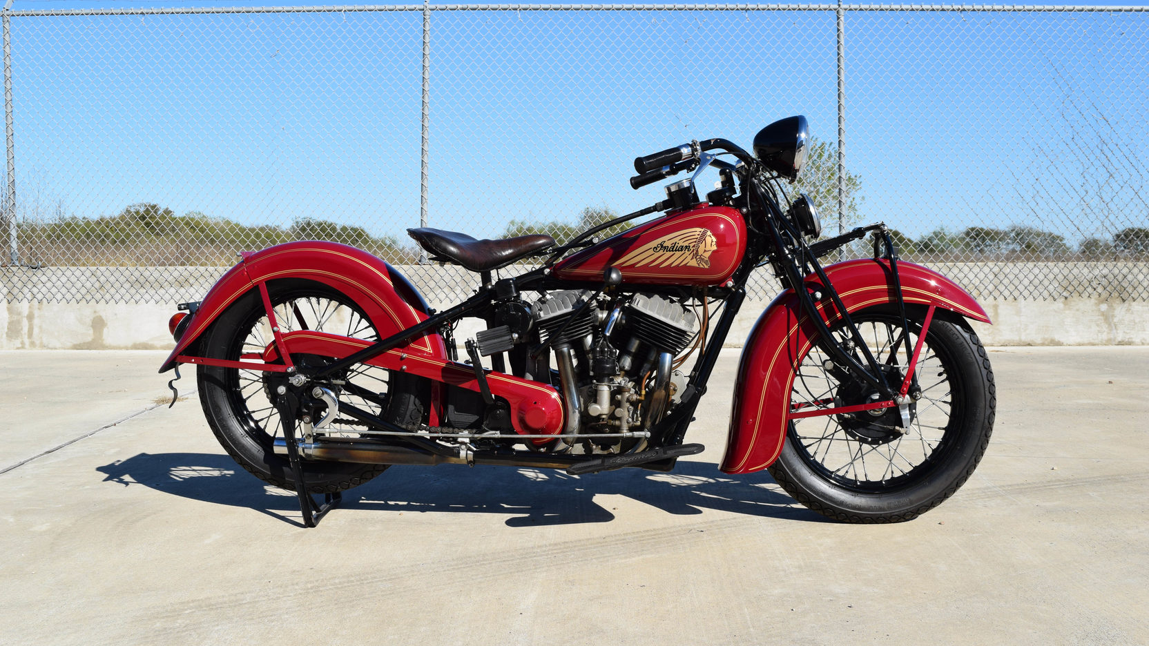 1935 Indian Chief Side View
