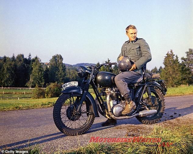 Steve McQueen The Great Escape 1963