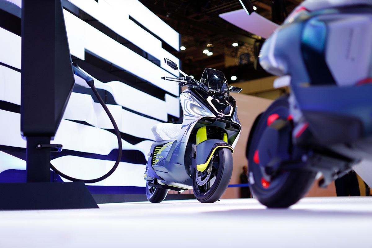 Tokyo Motor Show Yamaha E01