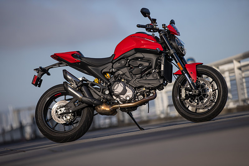 2021 Ducati Monster review price red