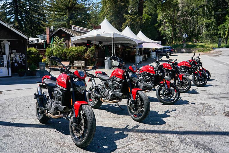 2021 Ducati Monster review price red Alice's Restaurant