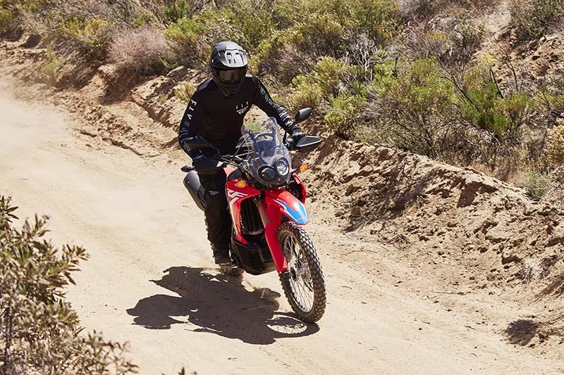 2021 Honda CRF300L Rally review action