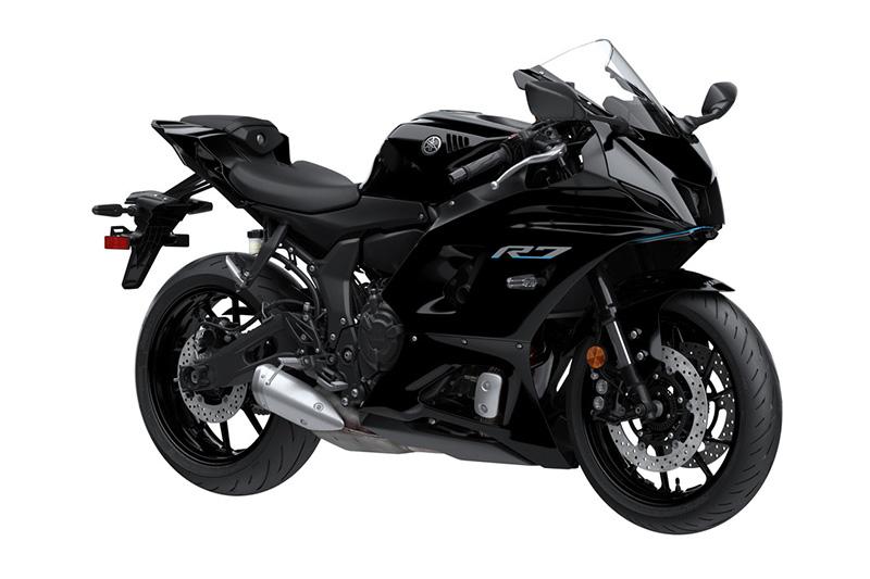 2022 Yamaha YZF-R7 review performance black