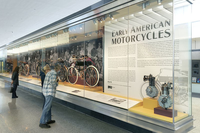 SFO Museum Early American Motorcycles