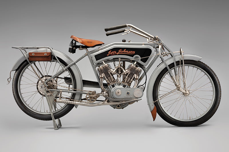 SFO Museum Early American Motorcycles 1915 Iver Johnson Model 15-7
