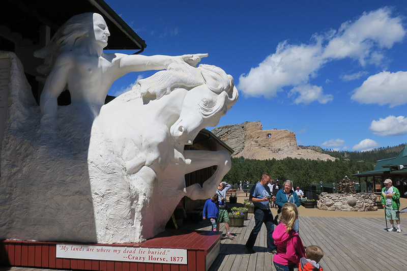 Favorite Ride Rockies to Mount Rushmore Crazy Horse Memorial South Dakota