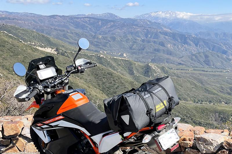 Nelson-Rigg Sahara Dry Duffle Bag motorcycle review KTM 890 Adventure R