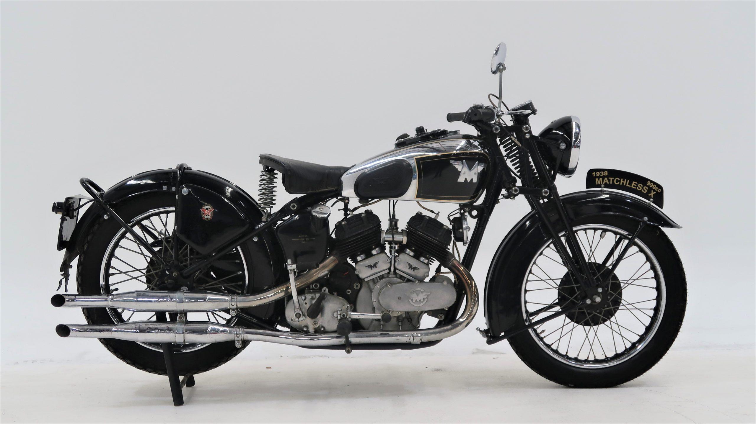 Pre-War British V-Twin 1938 Matchless Model X