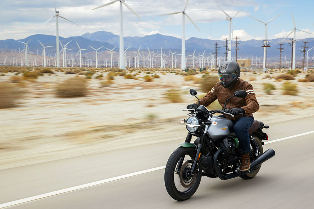 2021 Moto Guzzi V7 Stone Centenario video review