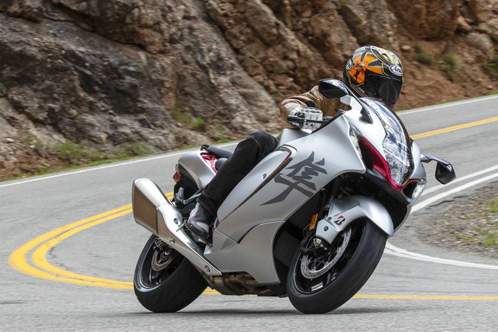 2022 Suzuki Hayabusa video review
