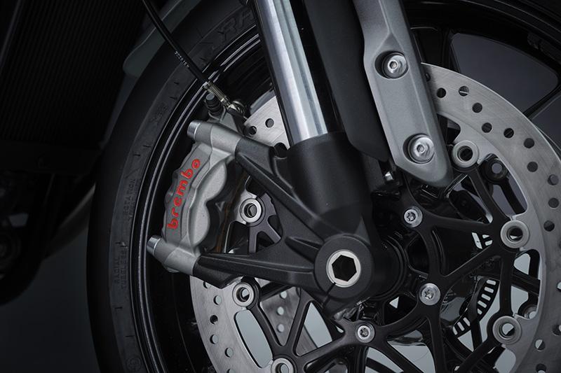 2022 Triumph Speed Twin review Brembo brake