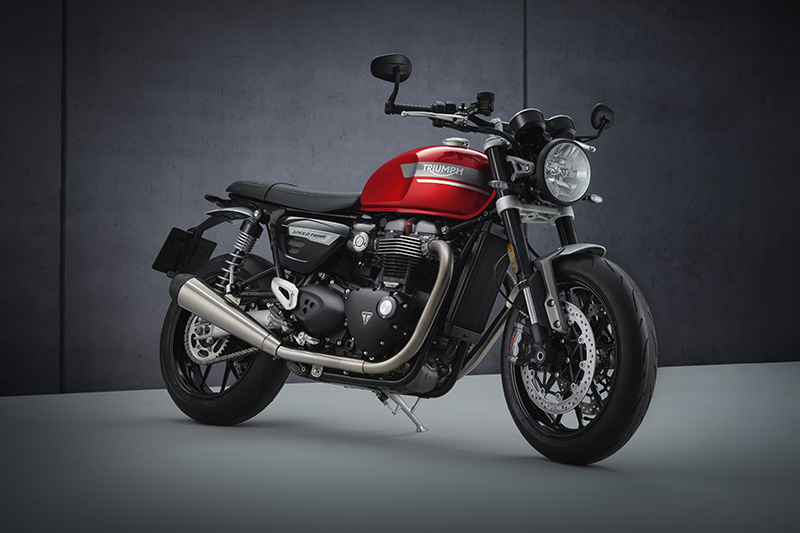 2022 Triumph Speed Twin review Red Hopper