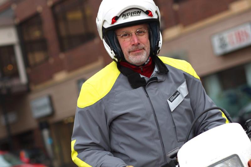 Episode 14 Rider Magazine Insider Podcast Andy Goldfine Aerostich Roadcrafter Ride to Work Day