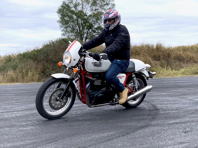Motoring editor retires to two wheels